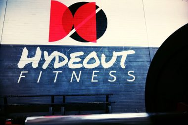 Hydeout Gym Wall