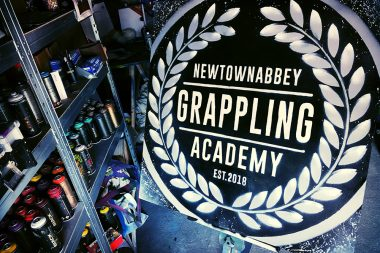Newtownabby Grappling Sign