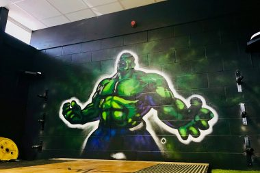Hulk Wall Gain Forth Fitness